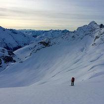 1 jour avec un guide de montagne privé (hiver-printemps)