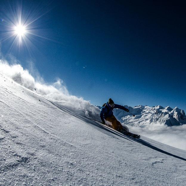 Ein Tag mit Privat-Bergführer im Schnee