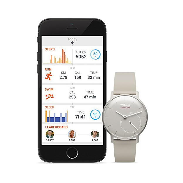 Fitness Uhr Withings Activité Pop pink