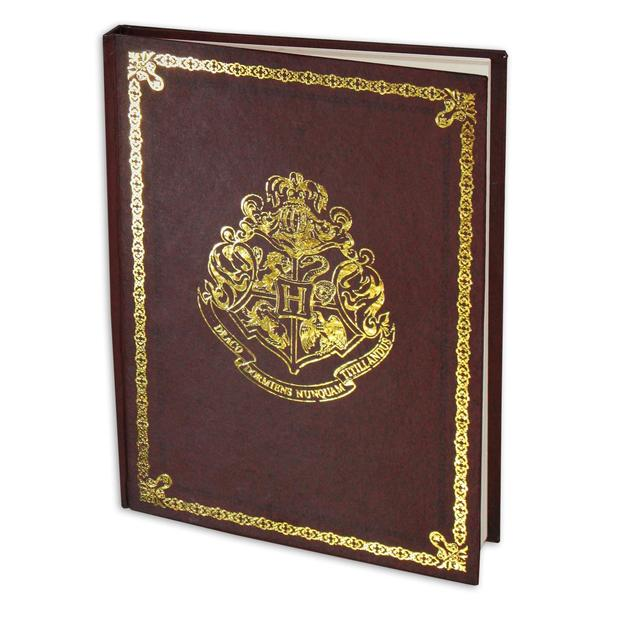 Harry Potter Notizbuch Hogwarts Crest