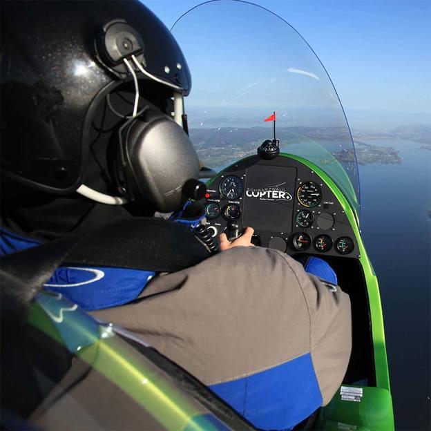 Gyrocopter selber fliegen 60 Minuten