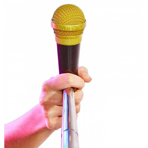 SelfieMic Selfie Stick et Microphone