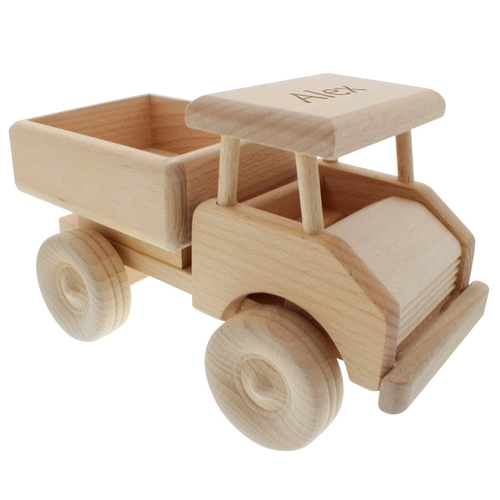 Personalisierbarer Lastwagen mit Gravur