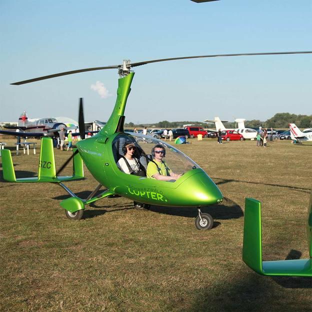 Gyrocopter Rundflug 30 Minuten