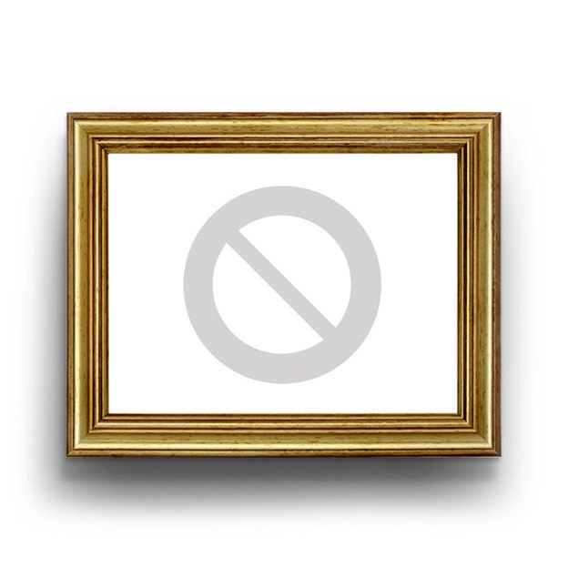 Rose in Rosé-Gold 43 cm