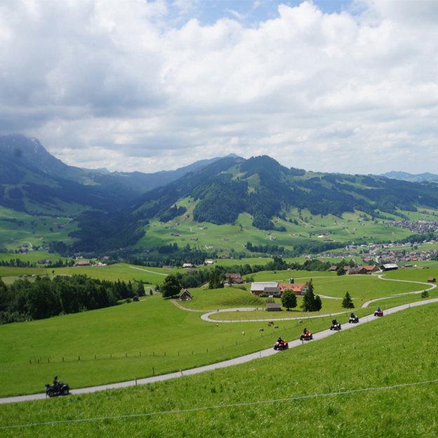 Quad Alpenblick Tagestour