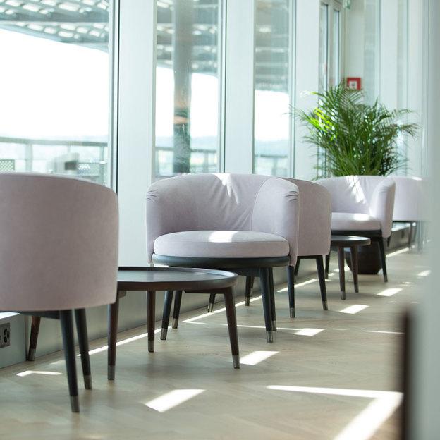 Entrée au Lounge VIP à l'aéroport de Zurich