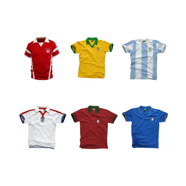 buy online d46f7 0aae9 Personalisierbares Fussball-Shirt für Kinder