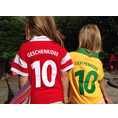 Maillot de foot personnalisé pour enfant