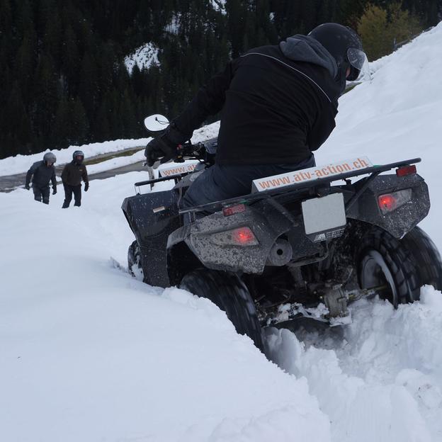 Tour en quad sur la neige et fondue (Thurgovie)