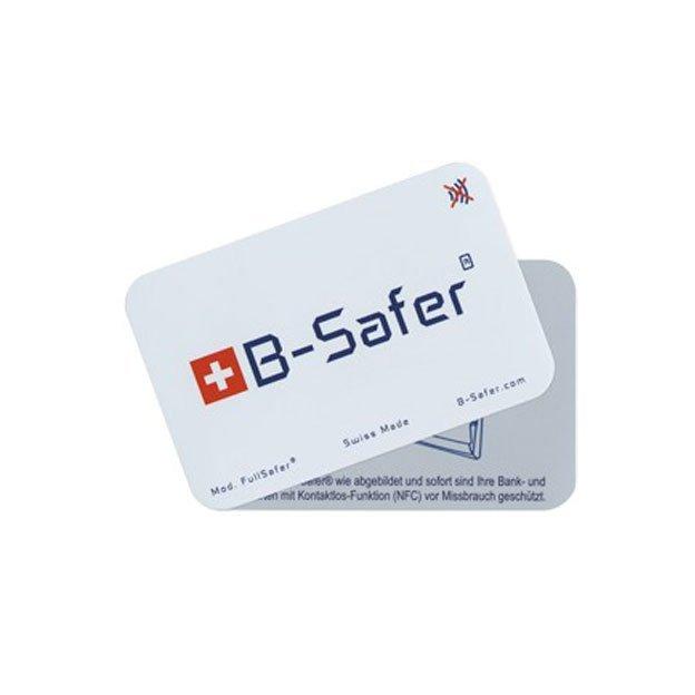 B-Safer Format Kreditkarte