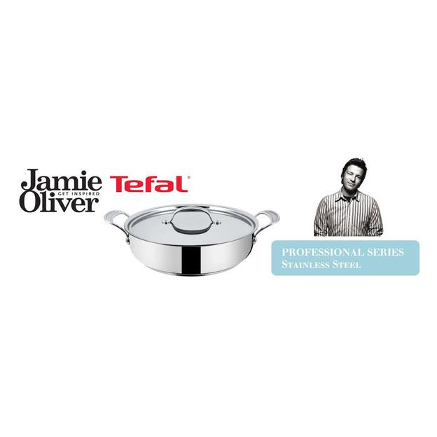 Poêle à service  à induction Tefal Jamie Oliver 30 cm