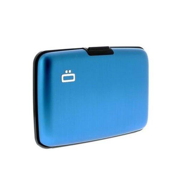 Etui pour cartes de crédit Ögon personnalisable bleu