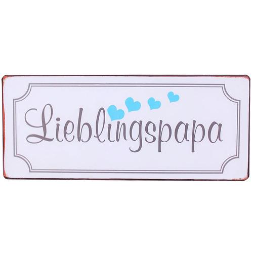 Image of Blechschild Lieblingspapa