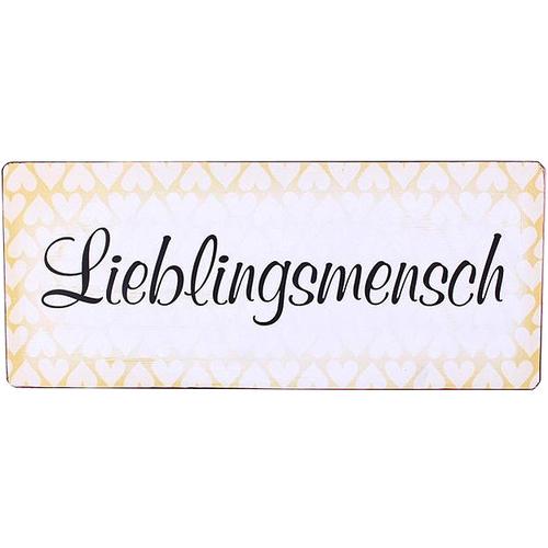 Image of Blechschild Lieblingsmensch