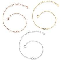 Bracelet Infinity en argent sterling