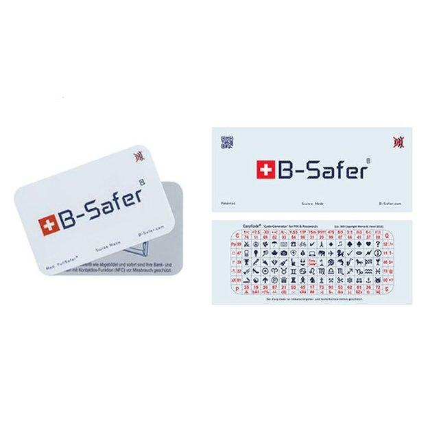 B-Safer Kreditkarten Schutz - Sicherheit für deine Bankkarte