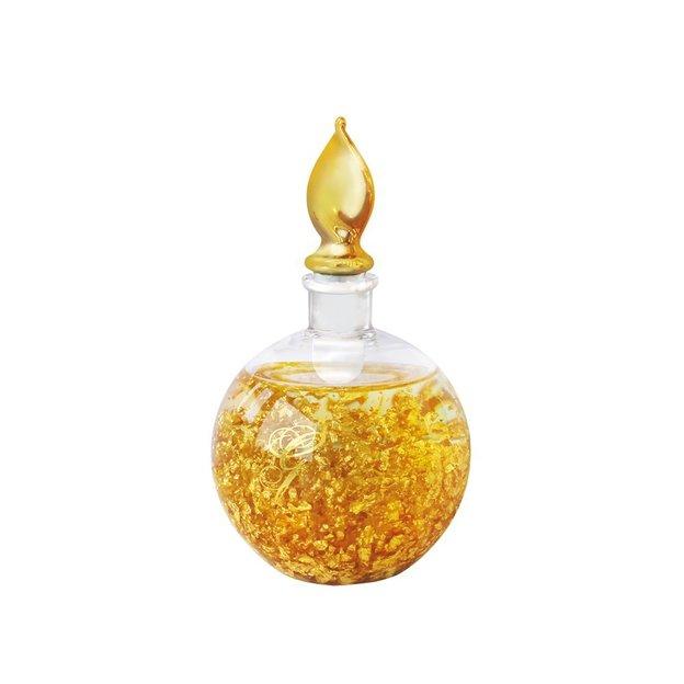 Massage und Körperöl mit Goldflocken
