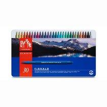 Caran d'Ache Fibralo Fasermaler Metallschachtel mit 30 Farben