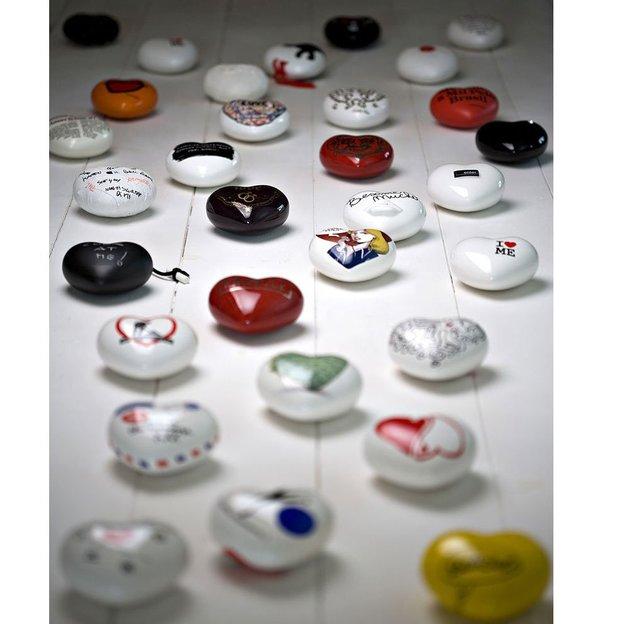 Keramik Herzen zum Verschenken