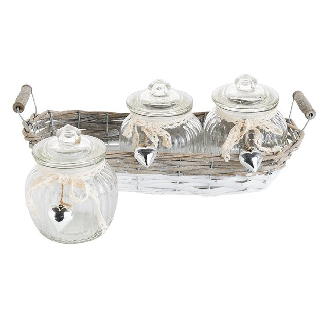 Glasdosen Home 3er Set