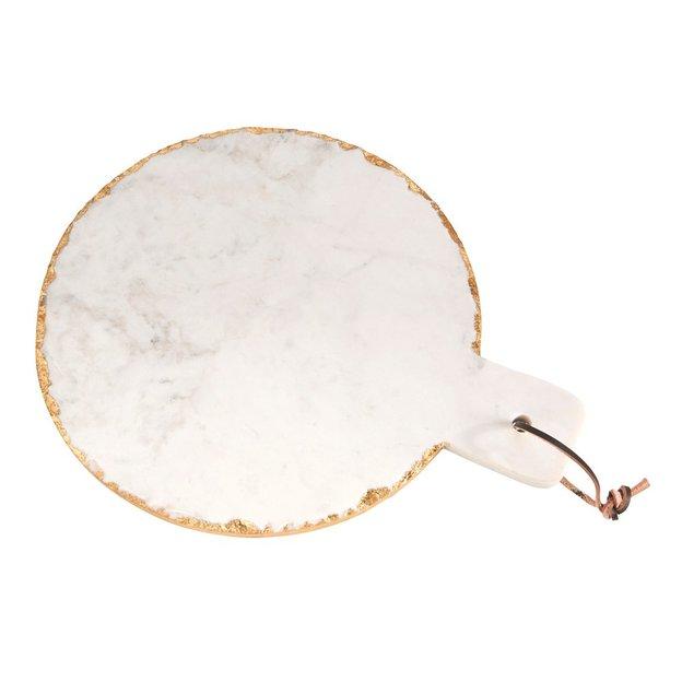 Servierplatte Carrara klein