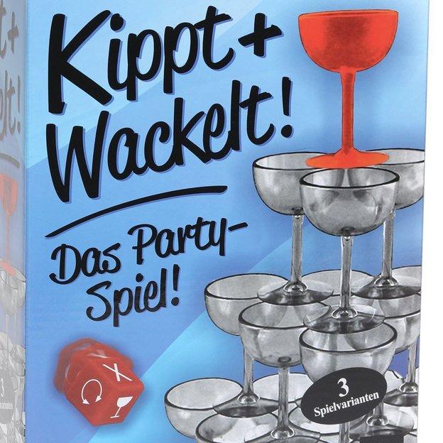 Partyspiel Kippt & Wackelt