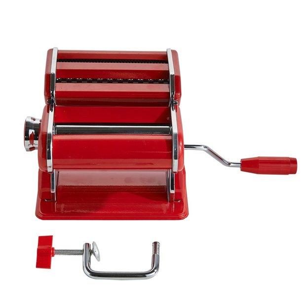 Nudelmaschine mit Aufsatz rot