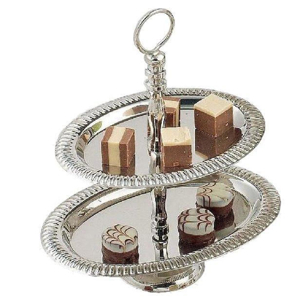 Présentoir à desserts, étagère Classico ovale
