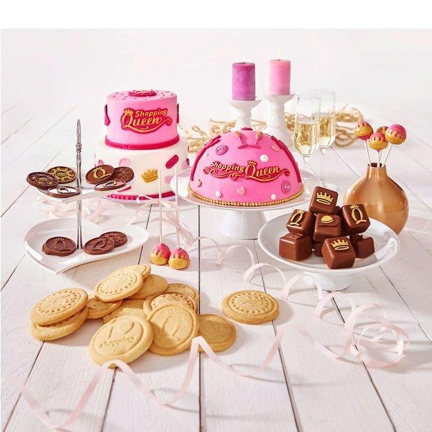 Moule à petits gâteaux Shopping Queen
