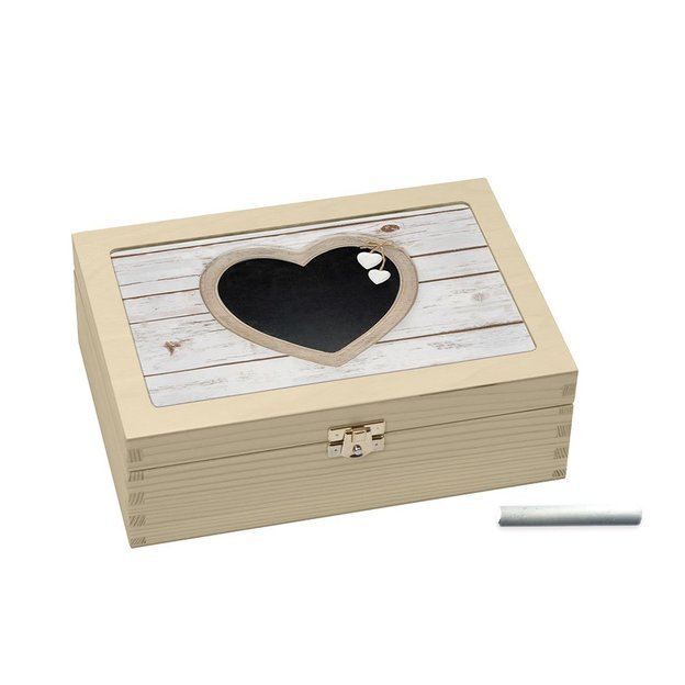 Teebox-Kreide Herztafel