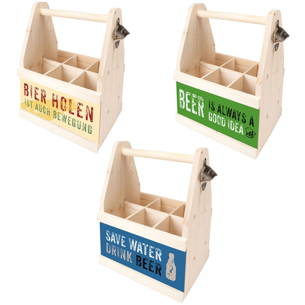 Porte-bouteilles de bière à message