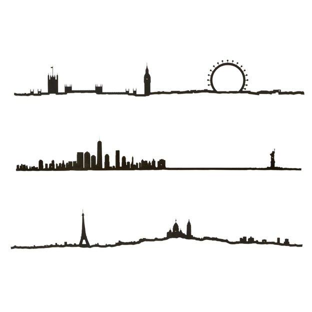 Wanddeko Städte