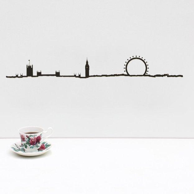 Wanddeko London 50 cm