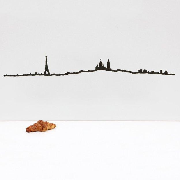Wanddeko Paris 50 cm