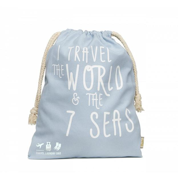 Sac à linge sale Travel the world & 7 seas