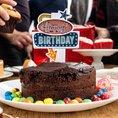 Décoration pour gâteau d'anniversaire Flashing Cake Topper
