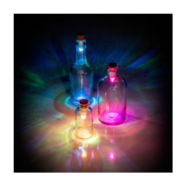 Bouchon Bottle Light multicolore