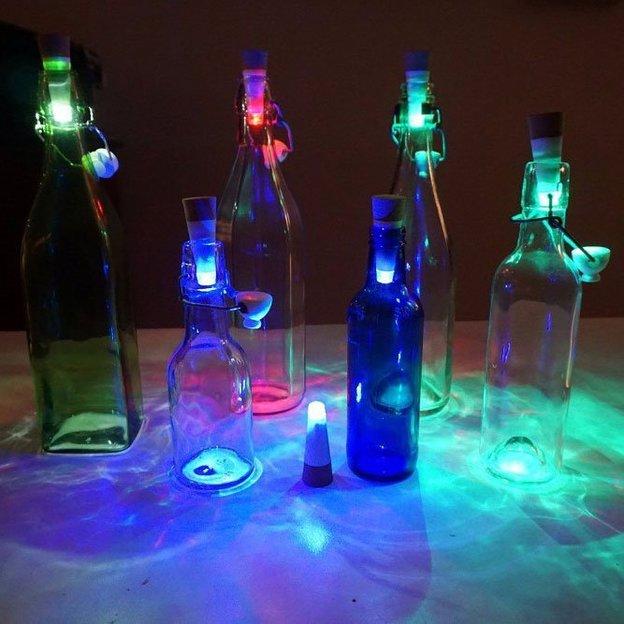 Flaschenlicht Bottle Light Multicolor