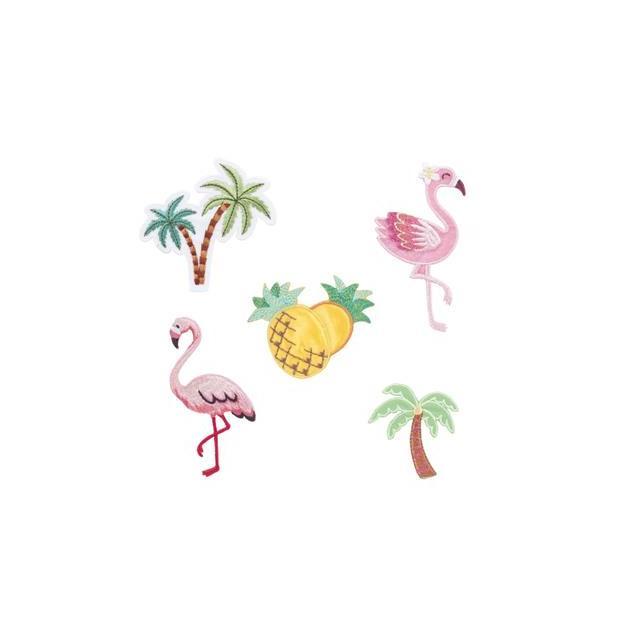 Bügelpatch Tropical