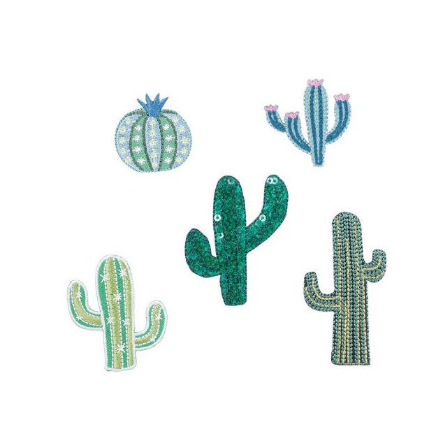 Bügelpatch Cactus