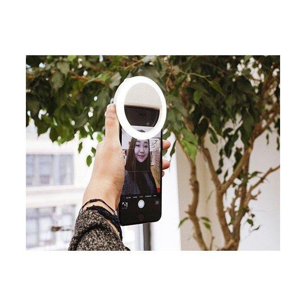 Anneaux lumineux à selfie pour smartphone avec 36 LED