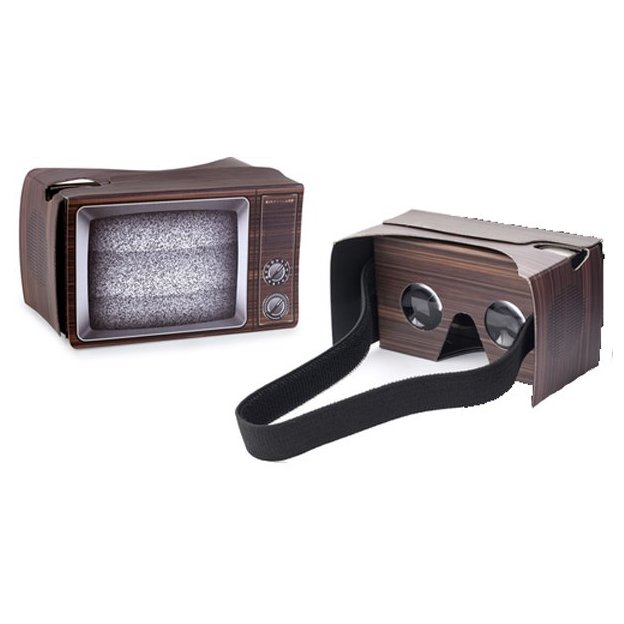 Retro Virtual Reality Brille
