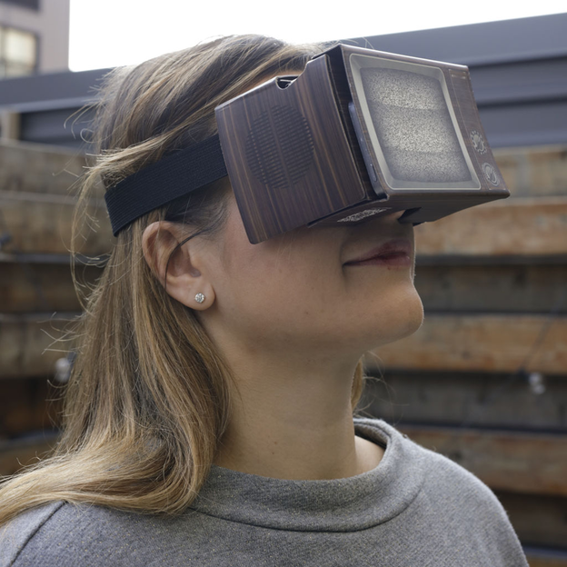 Retro Virtual Reality Brille