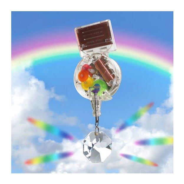 Regenbogenmaschine solarbetrieben