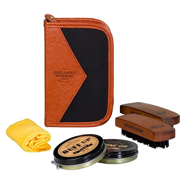 Gentlemen's Hardware Schuhputz Set