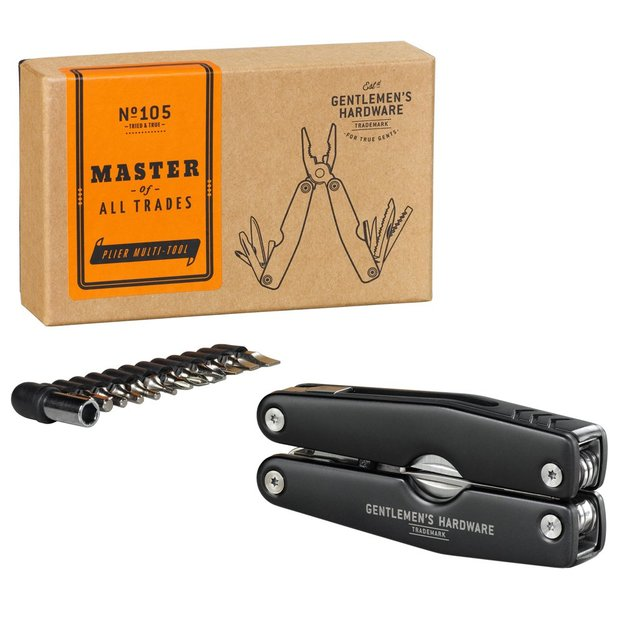 Zangen und Schraubenzieher Multi Tool von Gentlemen's Hardware