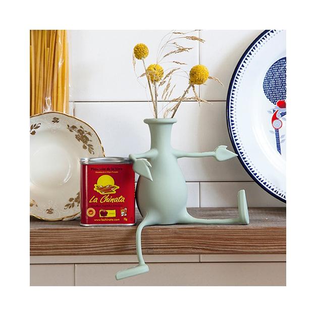 Vase rigolo en forme de bonhomme Florino