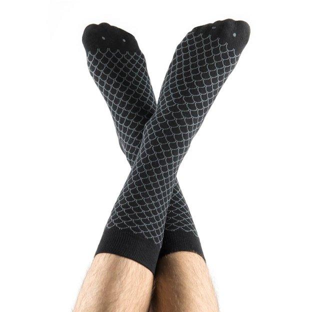 Fisch Socken black