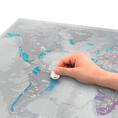 Scratch Weltkarte Platinum
